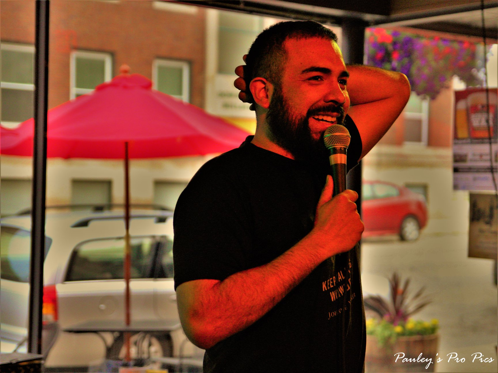 Comedy open mic by Jordan Pauley
